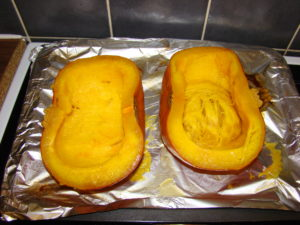 roasted pumpkin picture
