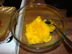 cooked pumpkin picture